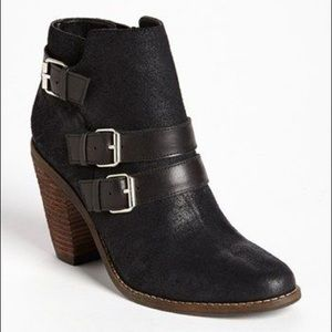 DV by Dolce Vita Black Suede Booties